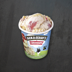 B&J's Strawberry Cheesecake Eis